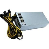 Single 2U 2000W Mining Machine Power Supply 10 P6 Interfaces Atx Computer Pc Psu Gold Mining Machine Switching Power Supply