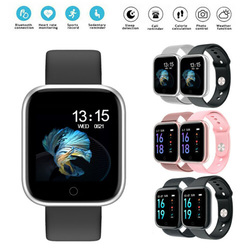 T80 Smart Watch Heart Rate Monitor Fitness Tracker Waterproof Bluetooth Smartwatch For Apple IPhone Xiaomi Sports Bracelet