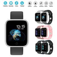 T80 relógio inteligente monitor de freqüência cardíaca fitness rastreador à prova dwaterproof água bluetooth smartwatch para apple iphone xiaomi esportes pulseira