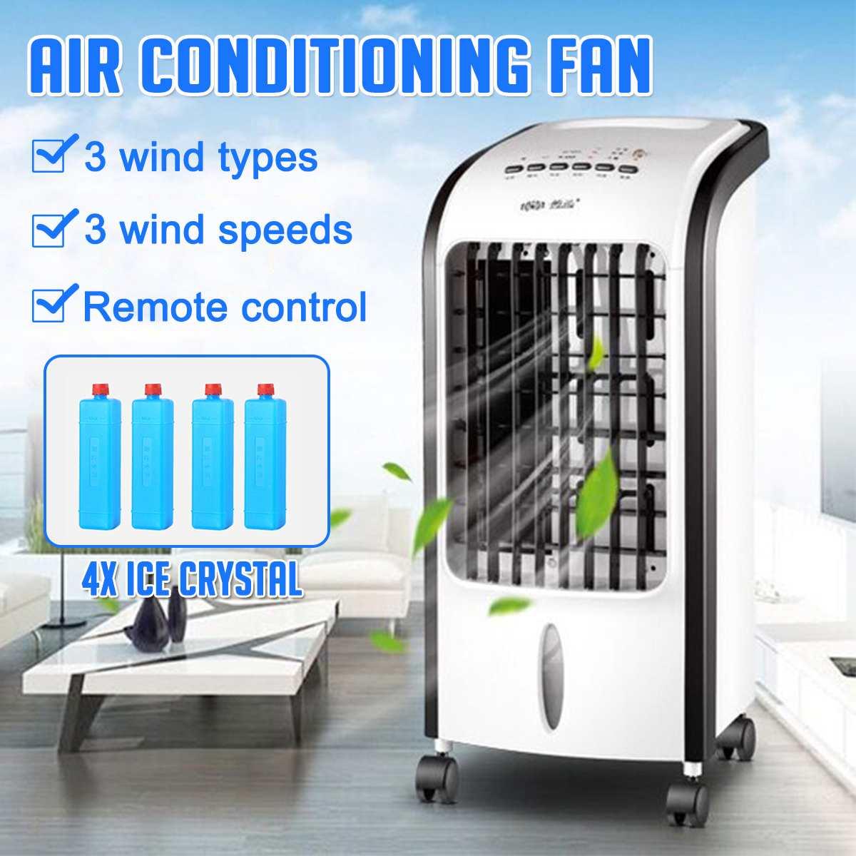 US Plug Portable Air Conditioner Conditioning Fan Humidifier Cooler Cooling 220V Air Conditioner Cooling Fan Humidifier