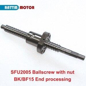 Image 5 - [EU STOCK/Free VAT] 20mm Square Linear Rail 1500mm+HGH20CA Carriages+SFU2005 1500mm Ballscrew+BK/BF15+Nut housing+Coupling