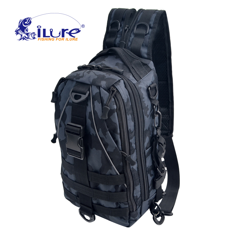 iLure New Fishing Bag Unisex Military Tactical Backpack Men's Trekking Sport Travel Rucksacks Camping Hiking Fishing Tackle