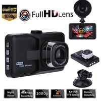3 pulgadas Full HD 1080P Car Driving Recorder vehículo Cámara DVR EDR Dashcam con detección de movimiento visión nocturna Sensor G
