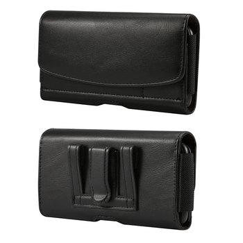 Перейти на Алиэкспресс и купить Чехол-кобура для мобильного телефона для Ulefone Armor 7 3WT 5S 6s 6E X3 X5 X6 S11 Note 7P кожаный чехол с зажимом для ремня и держатель для карт