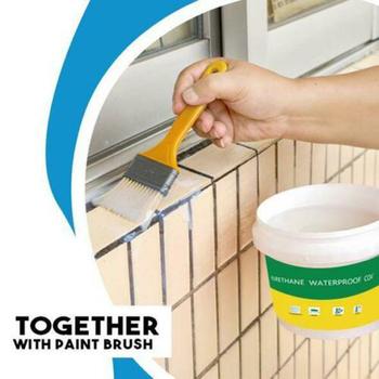 Innowacyjna uszczelniacz Mighty Paste poliuretanowa wodoodporna powłoka do domu dom łazienka kleje dachowe uszczelniacze kleje strona główna tanie i dobre opinie Do obróbki drewna NONE CN (pochodzenie) Adhesives Sealers