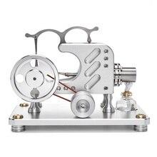 T16-03 Balance Metal Cylinder External Combustion Stirling Engine Model Educational Toy