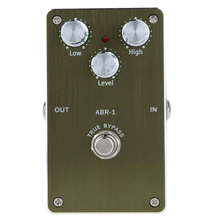 лучшая цена ABR -1Mini Booster Guitar Effect Pedal Portable 2-Band EQ Guitar Pedal True Bypass Guitar Accessories
