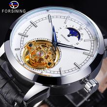 Forsining Fashion Mens Watches New Arrival Genuine Leather S