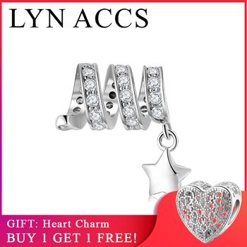 New Fashion 925 Sterling Silver Sweet Love Cupid Arrow charms Beads Jewelry Making Fits Original LYNACCS Charms Bracelet Bangles
