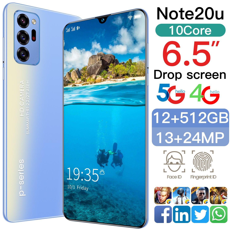 SAILF Note20u Android 10,0 мобильный телефон 6,5
