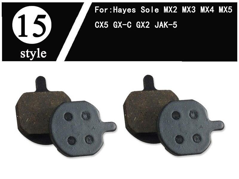 MX4 4pairs Mew Bike Disc Brake Pads For HAYES- Sole MX3 MX5 JAK-5 CX5 MX2