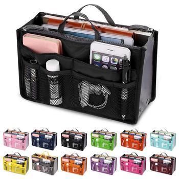 Sac cosmétique sac de maquillage organisateur de voyage Portable pochette de beauté sac fonctionnel trousse de toilette maquillage organisateurs téléphone sac étui