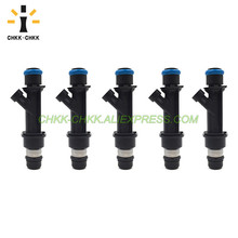 CHKK-CHKK 25380534 fuel injector for Chevrolet Colorado Hummer H3 H3T GMC Canyon l5 3.7L for 2004 2008 chevy colorado gmc canyon tail lights black usa domestic free shipping