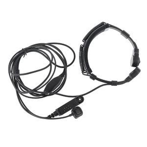 Image 2 - Telescopic Throat Vibration Mic Earpiece Headset for Baofeng UV 9R Plus Radio