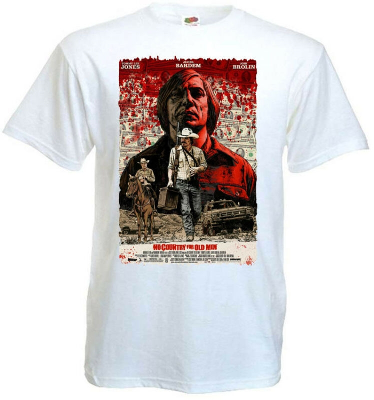 No Country For Old Men V4 T Shirt Movie Poster Coen Brothers All Sizes S-5xl image