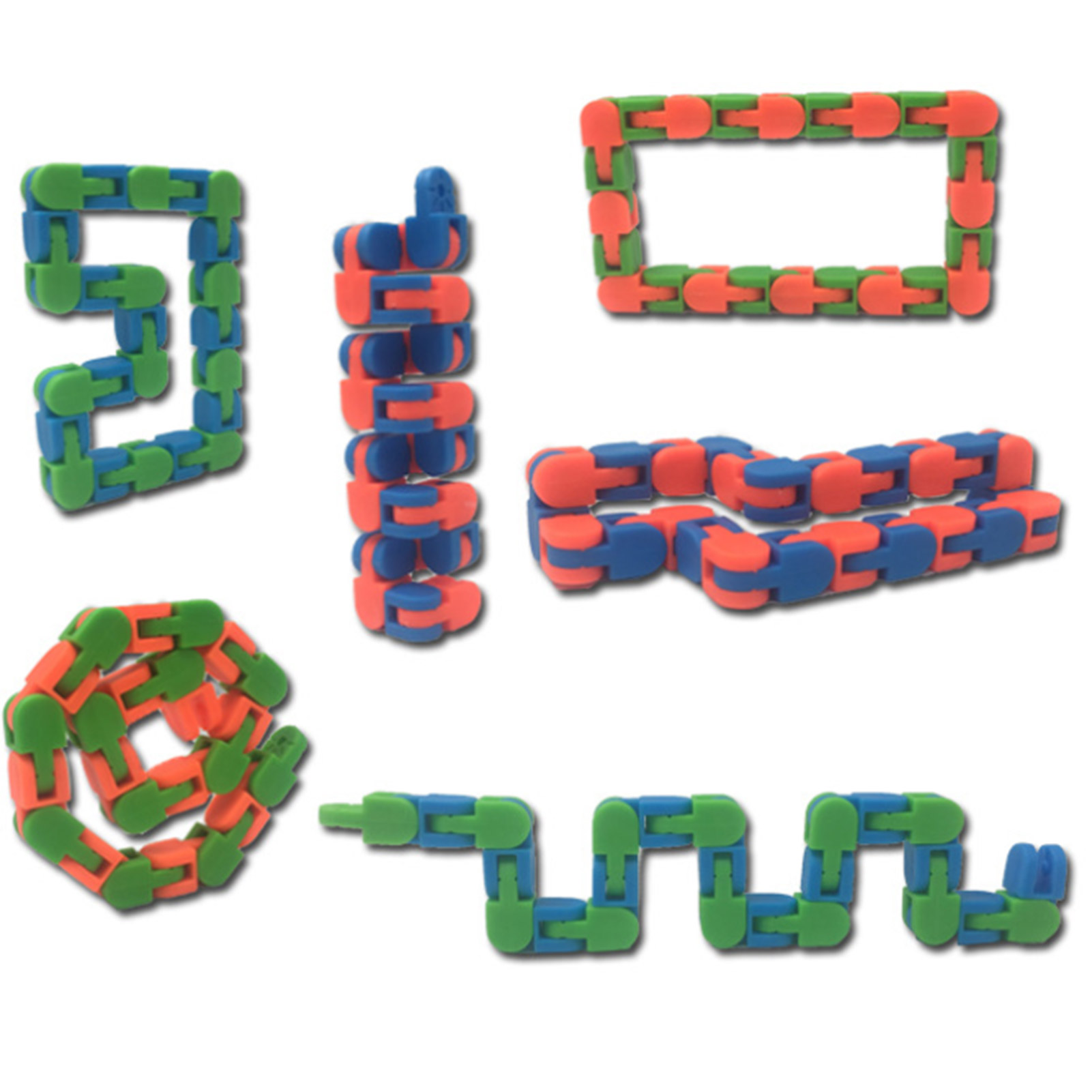Toys Decompressive Push-Ball Stress-Relieving Strings Sensory-Toy-Set Squeezing Stretch img4