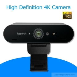Logitech BRIO C1000e – Webcam 4K HD, périphérique pour ordinateur de conférence vidéo, enregistrement en continu