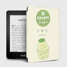 Smart Slim Case Cover for Funda Kindle Paperwhite 4 10 Generation 2018 Auto Wake/Sleep Ebook Shell for Kindle Paperwhite 1/2/3 цена 2017