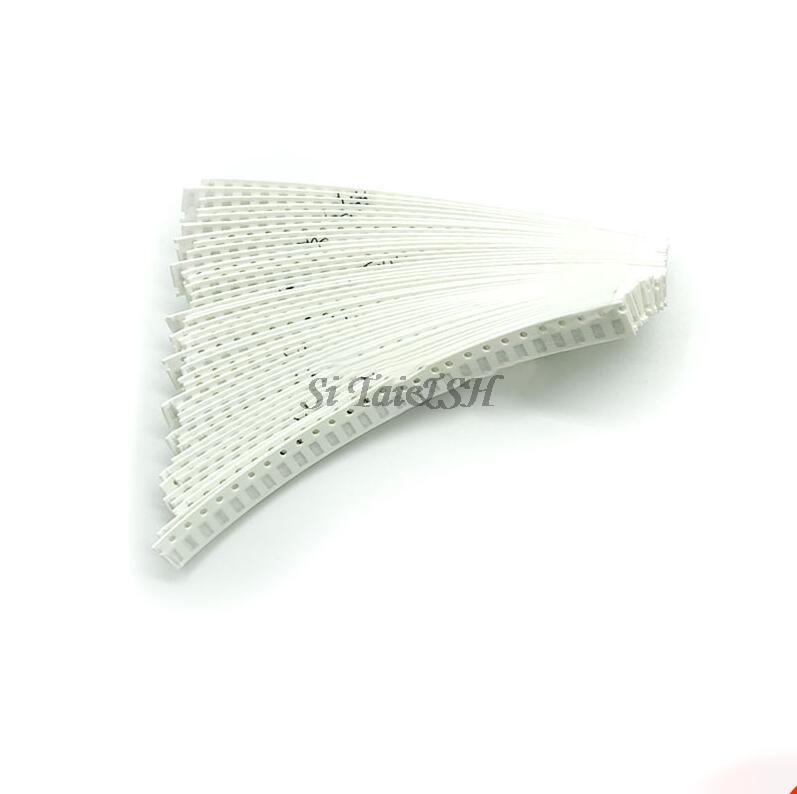 100Pcs 1206 SMD Resistor 0R - 10M 1/2W 0 1 10 100 150 220 330 470 Ohm 1K 2.2K 10K 100K 200K 0R 1R 10R 100R 200R 220R 330R 470R