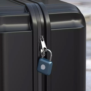 Image 4 - Youpin USB Rechargeable intelligent sans clé électronique serrure dempreintes digitales maison antivol sécurité cadenas serrure de fixation rétractable et mécanisme dattache de sécurité de porte