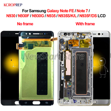 For Samsung Galaxy Note FE 7 N930 N935 LCD Display Touch Screen Digitizer Assembly For Samsung Note 7 FE N930F N935F/DS LCD