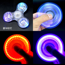 Toys Light Fidget Hand Spinner Led Stress Spinners Glow The Dark Figet Spiner Cube Anti-stress Finger Antistress E