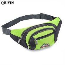 QIUYIN Unisex Women Men Belt Waist Bag for Sports Hiking Running Pouch Zip Funny Waistband Travel Portable