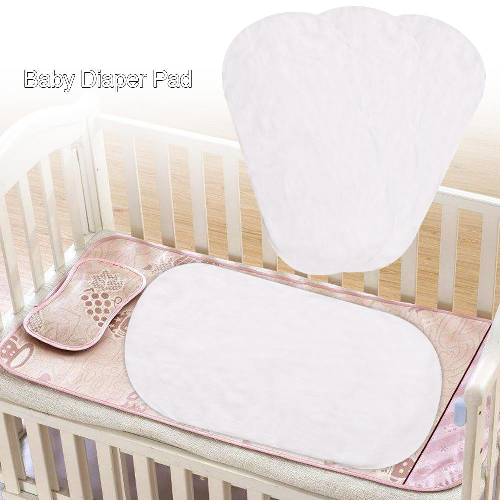 3PCS Diaper Pad Portable Multi-function Baby Insulation Pad Foldable Storage Diaper Changing Pad Liners Baby Bedding