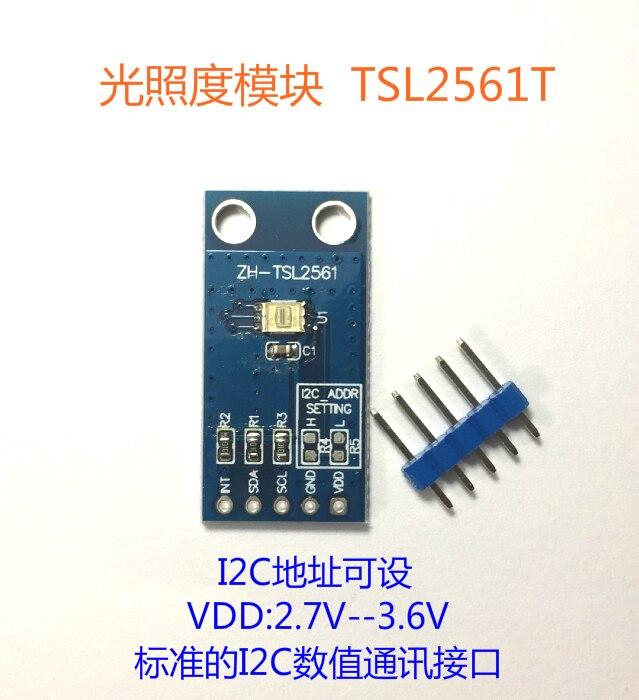Digital Illuminance / Light Intensity Sensor TSL2561T