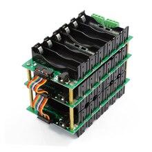 Paquete de batería de iones de litio 18650 de 24V y 6S, soporte de batería BMS, PCB, bricolaje, Ebike, caja de batería Solar 6S