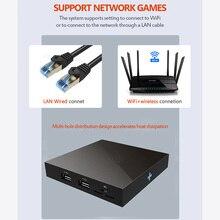 وحدة تحكم ألعاب فيديو Mini Arcade مع محاكي ، صندوق قتال ثلاثي الأبعاد ، 4K ، 64 بت ، HD ، 1800 لعبة ريترو لـ Super Nintendo ، N64 ، PSP ، PS1