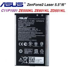 Original ASUS ZenFone 2 Phone Battery For ASUS ZenFone2 Laser 5.5/6 zenfone selfie Z011D ZD551KL Z00UD ZE550KL ZE601KL Z00LD asus zenfone 2 laser 16gb ze500kl dual sim lte black
