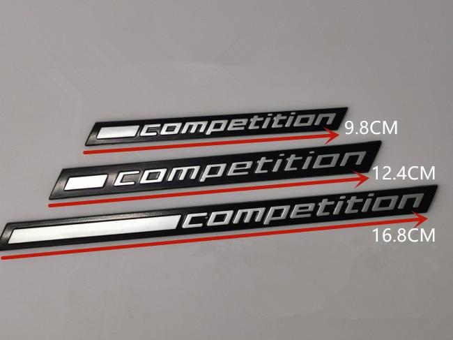 1X подчеркивающая Эмблема Для BMW Thunder Edition M1 M2 M3 M4 M5 M6 M7 M8 X3M X4M X5M X6M, наклейка для багажника автомобиля