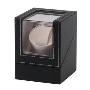 Mechanical-Wristwatch-Case Watch-Winder Transparent-Cover Automatic Shaker Display-Box