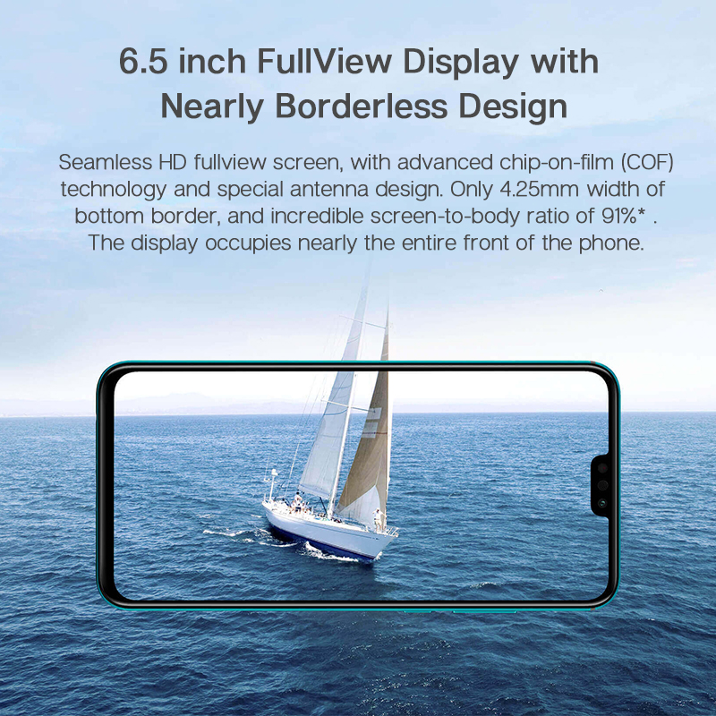 Global Version Honor 9X Lite Smartphone 4G 128G 48MP Camera Kirin 710 6.5'' Mobile Phone Android P GPU Turbo 3.0 NFC 3