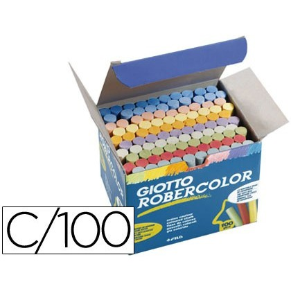 CHALK COLOR DUST ROBERCOLOR-BOX 100 UNITS