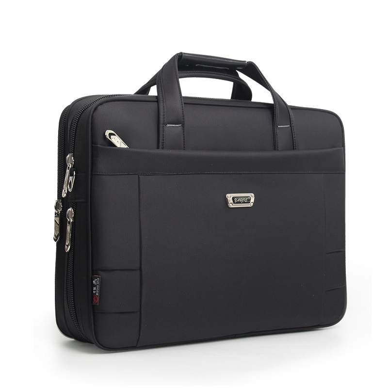 Brand Waterproof 14 15.6 Inch Laptop Briefcase Business Travel Black Computer Bag