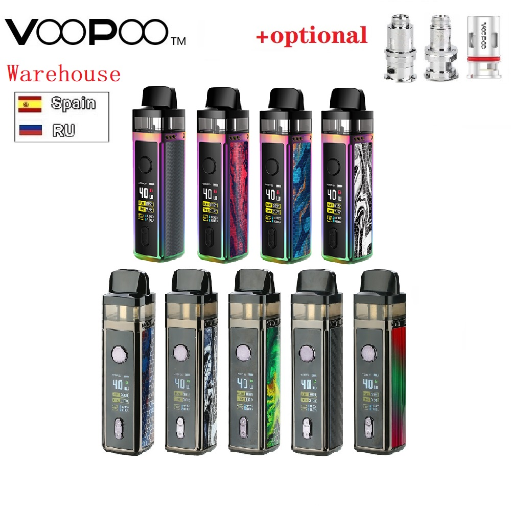 Newest VOOPOO VINCI Mod Pod VW Kit With 1500mAh Battery &the Brand-new 5.5ml Visible Pod E-Cig Vape Mod Pod Kit Vs Kubi / Drag 2