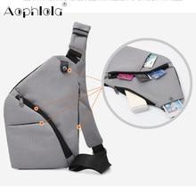 Bolsa de ombro novo coldre anti roubo cinta de segurança digital armazenamento sacos de peito