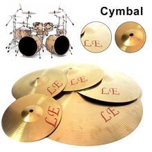 Медный сплав крушение тарелки барабан инструмент для игрока 8 10 12 13 дюймов