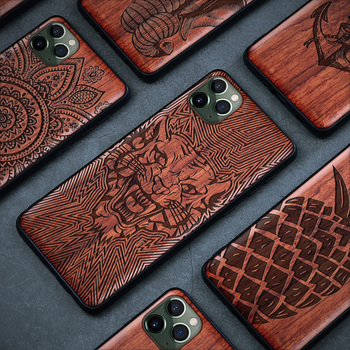 Real Wood Case For iPhone 11 Pro 7 8 Plus XR XS Max SE 2020 New Wood Case For Samsung Galaxy Note 10 Pro Note 20 S20 S10 Plus