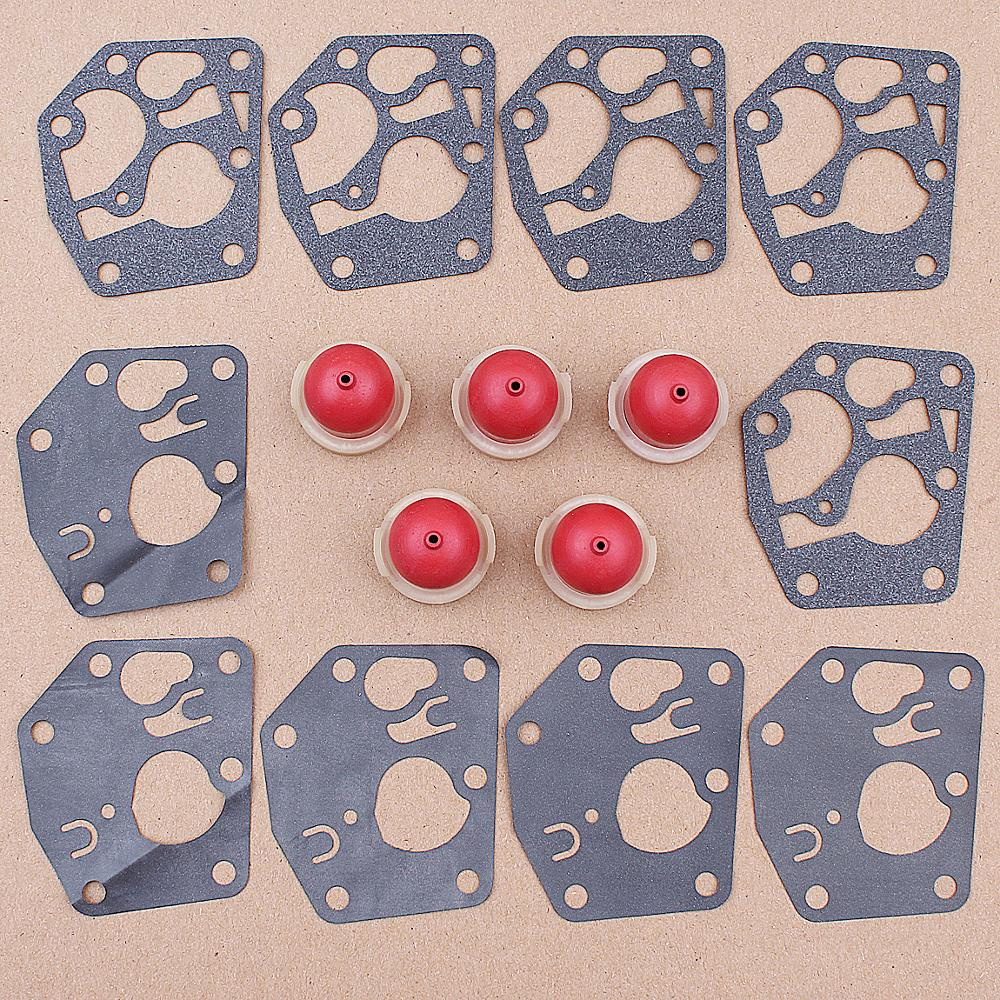 Carburetor Diaphragm Gasket Primer Blub Kit for <font><b>Briggs</b></font> & Stratton 495770 <font><b>795083</b></font> 5083H 5083K 7721 520175 Engine image