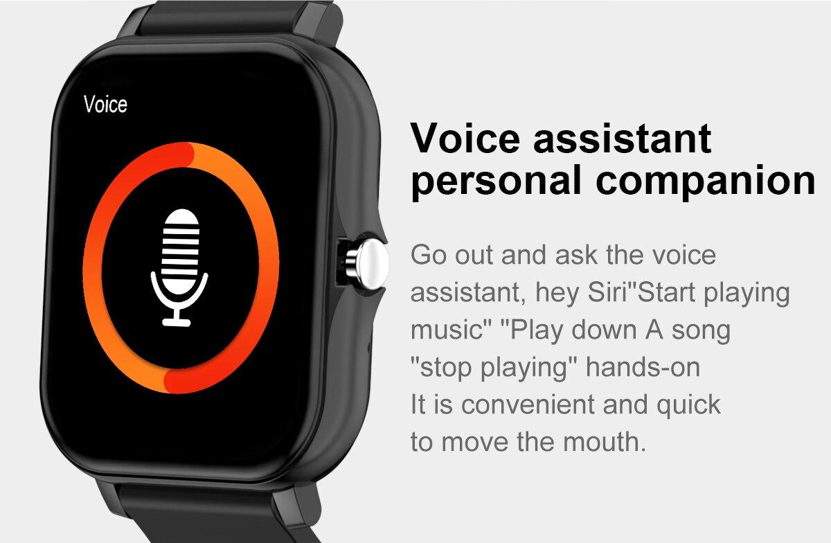 Xiaomi relógio inteligente controle de linguagem de