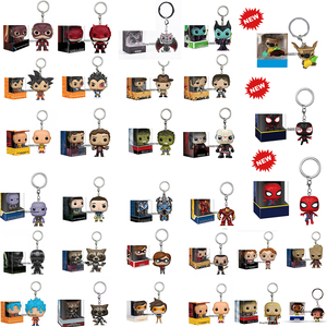 POP Keychain GINNY WEASLEY RON WEASLEY FORKY HULK GOKU DOBBY TIKI STITCH Figure Collectible Model Toys With Box