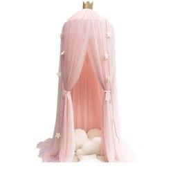 Literie de bébé 7 couleurs | Rideau de couverture avec moustiquaire en coton, couchette, pour enfants, décoration de jeu domestique