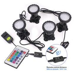 12V LED światło podwodne wodoodporna IP67 lampa RGB akwarium lampy punktowe basen fontanny ogrodowe staw/oczko wodne akwarium z wodą