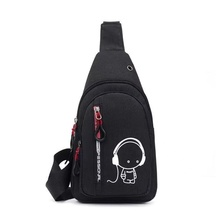 2021 new style chest bag fashion leisure cross-bag sports travel chest bag one shoulder bag small bag nylon cloth