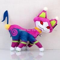 New Anime Kingdom Hearts Note Tail Nightmare Six Feet Necho Cat Plush Doll Stuffed Animals Kids Toy 12 Inch Gift