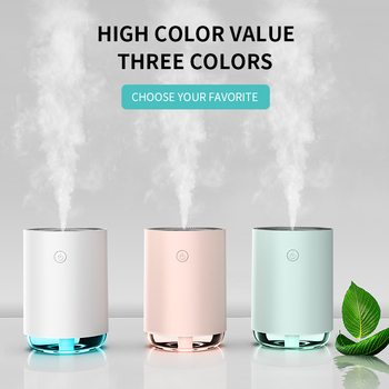 Home Cute Air Humidifier 220ML Pregnant Baby Quite Ultrasonic USB Essential Oil Diffuser Anion Car Office Humidificadors anion moisturizing instrument ultrasonic diffuser hair with 5k hour life