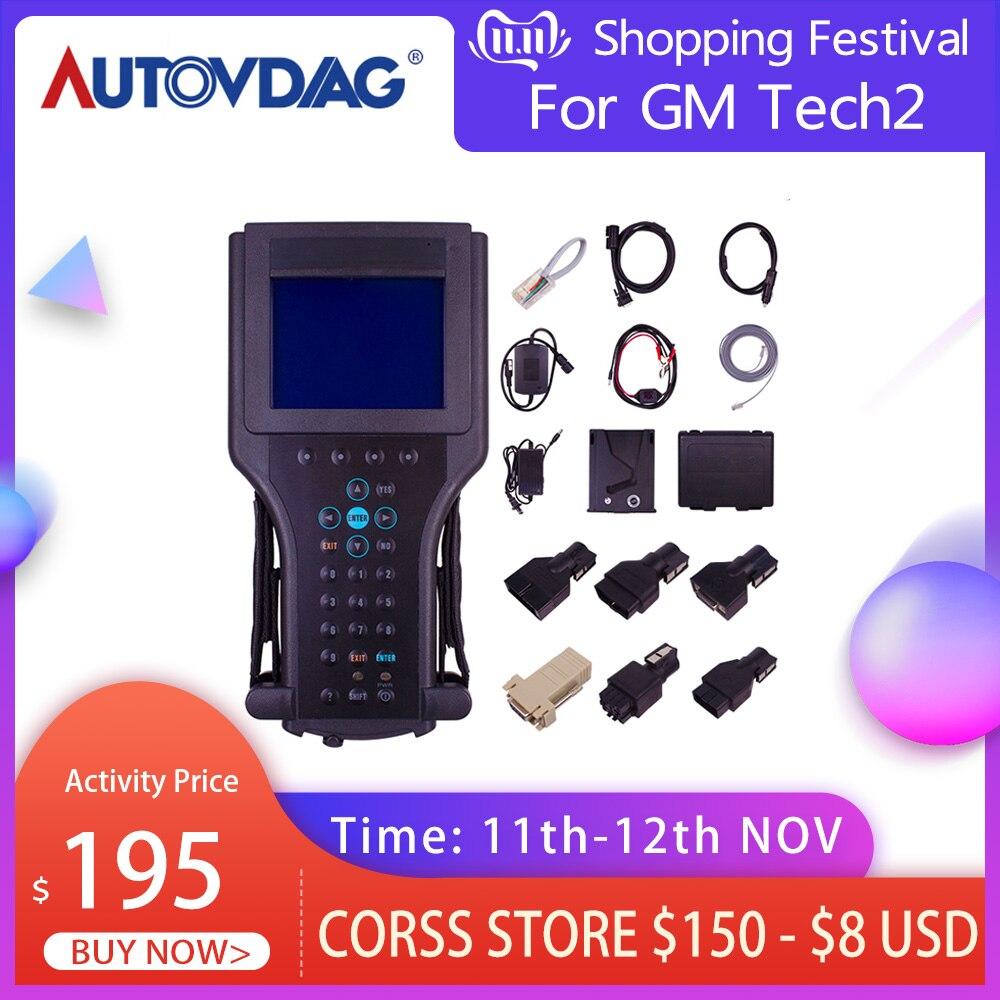 For GM Tech2 Card Car Diagnostic Tool Obd2 Scanner Black Tech 2 Scanner For GM For SAAB For OPEL For SUZUKI For ISUZU For Holden